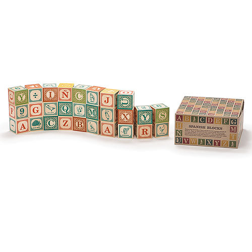 SPANISH BLOCKS 28PC