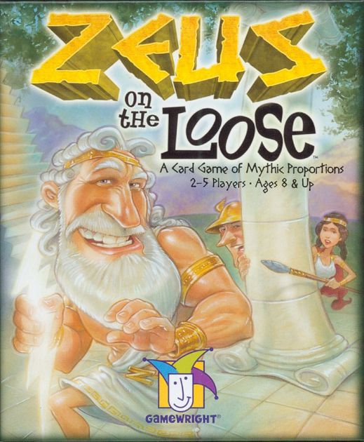 ZEUS ON THE LOOSE CARD GAME