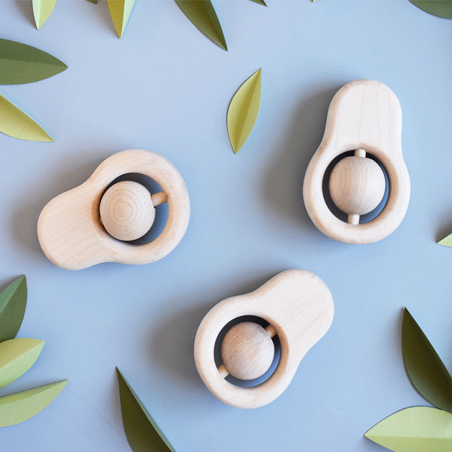 AVOCADO TEETHER - BEECH