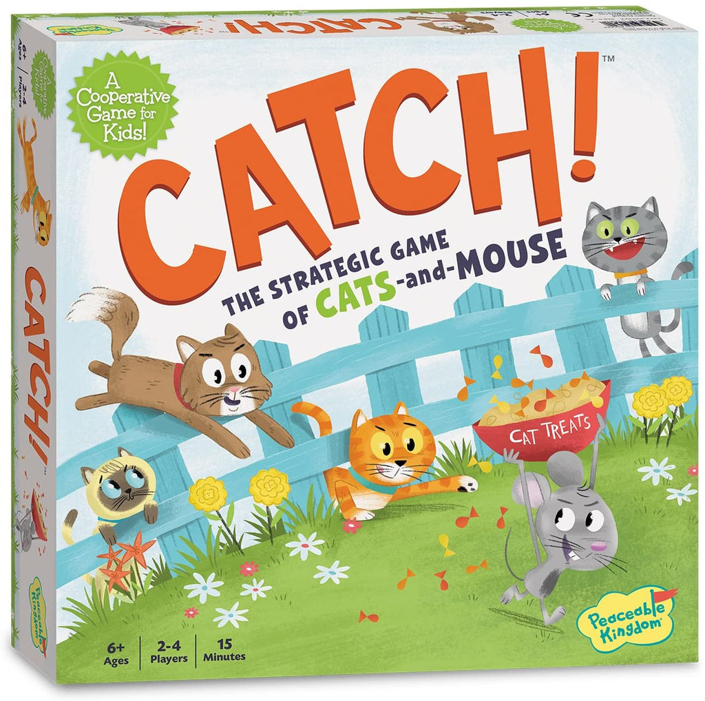 CATCH - THE STRATEGIC GAME OF CATS & MOUSE