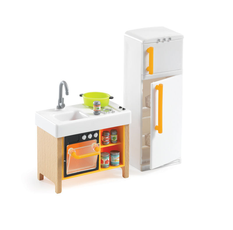 compact kitchen djeco