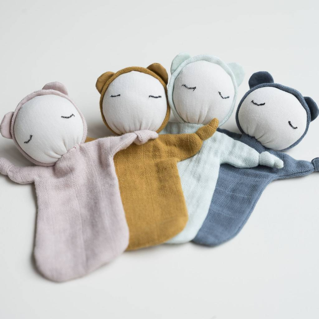 FABELAB - CUDDLE DOLL - DUSTY PINK