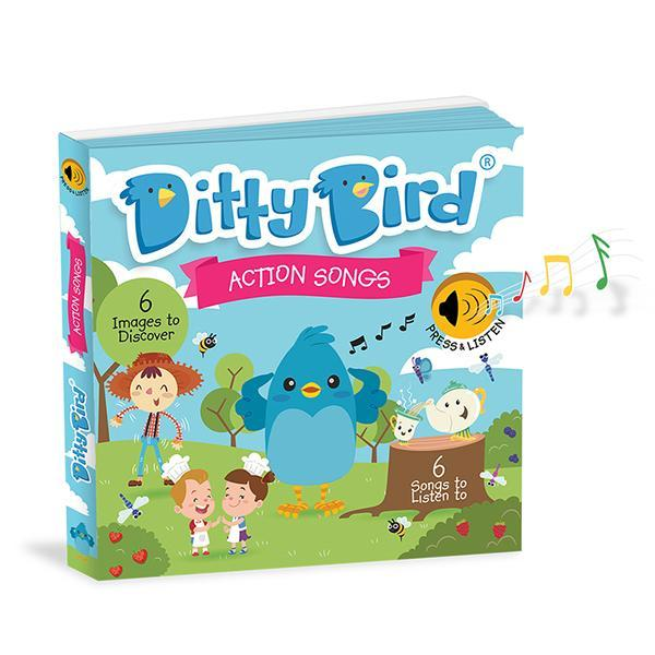 DITTY BIRD BOOK - ACTION SONGS