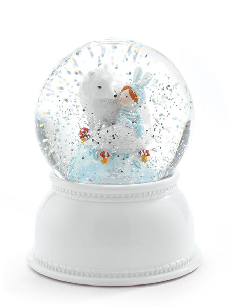 LILA & PUPI GLOBE NIGHT LIGHT