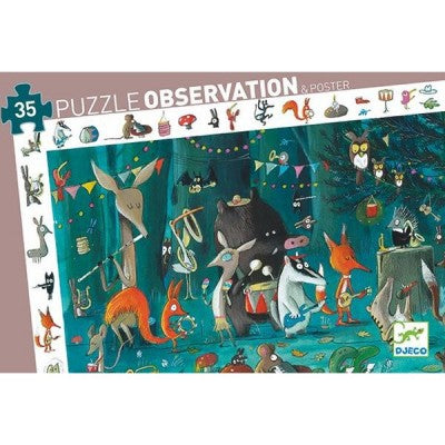 OBSERVATION PUZZLE - THE ORCHESTRA 35 PC