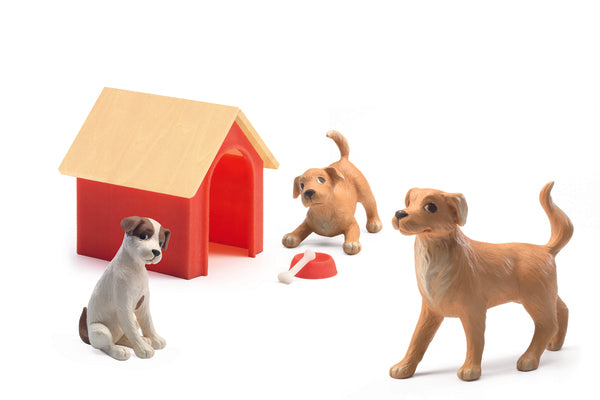 Doll house dogs Djeco