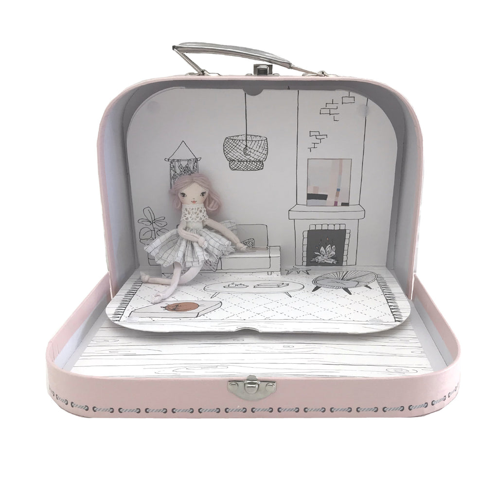 POP-UP DOLL HOUSE - BLUSH