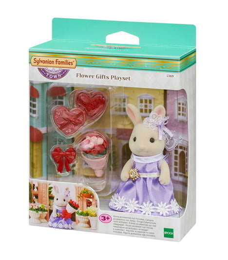 SYLVANIAN FLOWER GIFTS PLAYSET