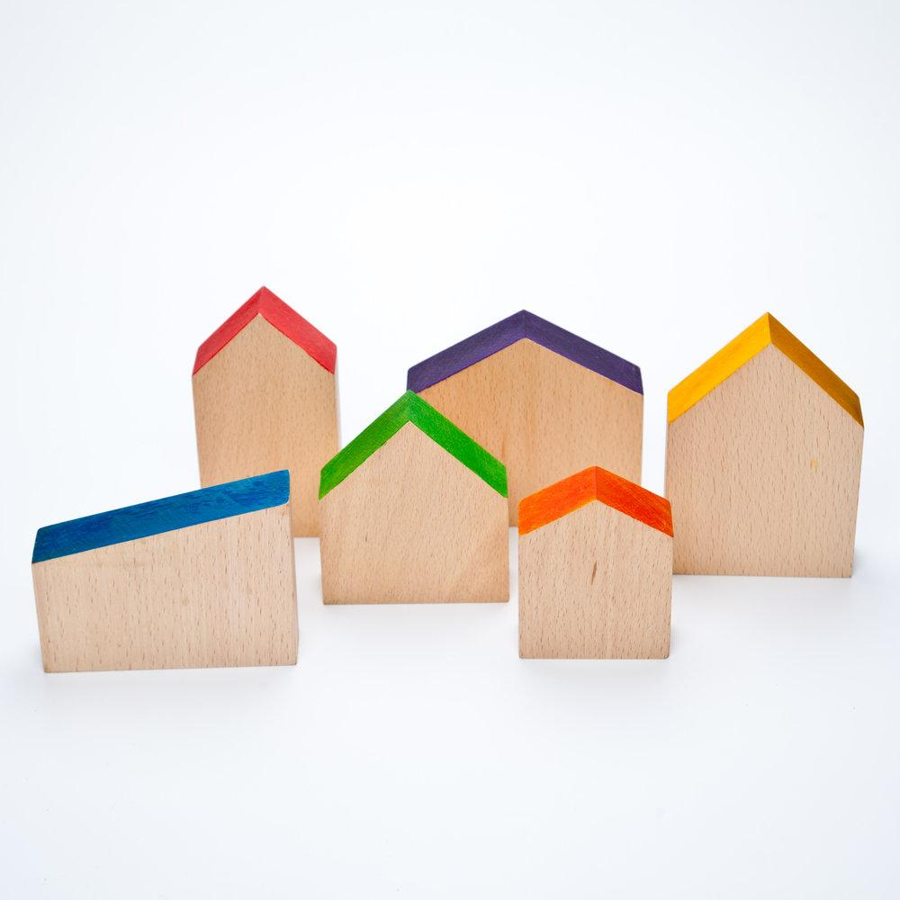 GRAPAT - HOUSES 6PC
