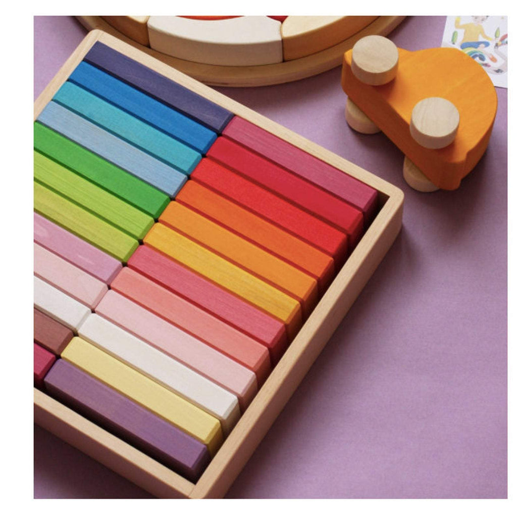 BRICKS RAINBOW 24PC