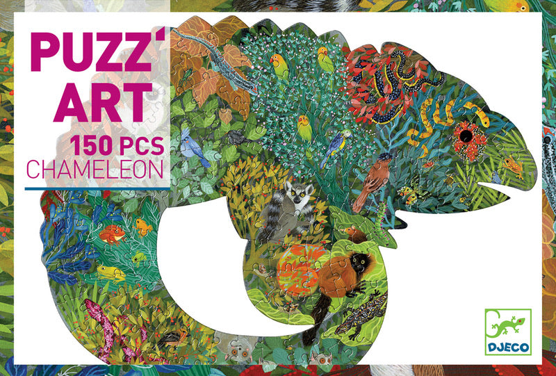 PUZZ ART CHAMELEON 150PC