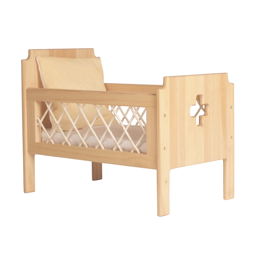 THE FLORENCE DOLLS COT BEDDING - SUNSHINE
