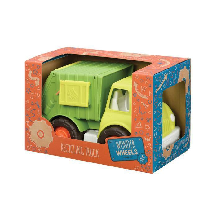wonder wheels garbage truck
