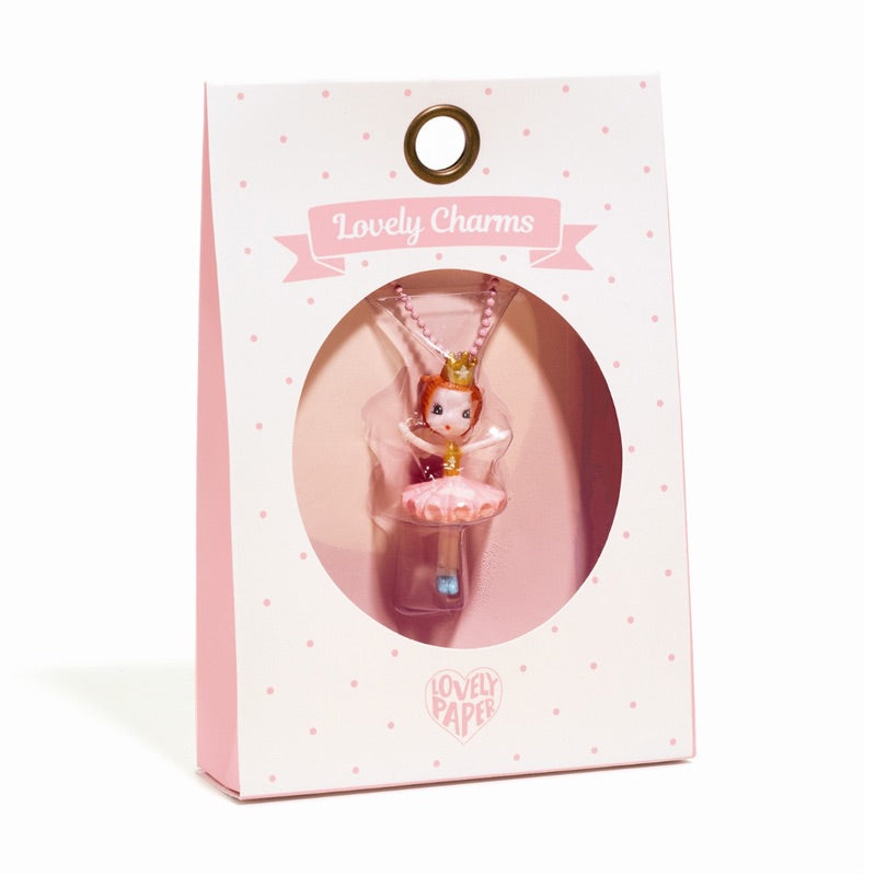 lovely charms ballerina djeco