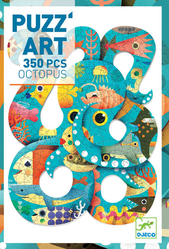PUZZ ART OCTOPUS - 350PC