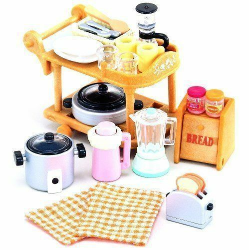 SYLVANIAN KITCHEN COOKWARE SET