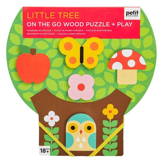 LITTLE TREE CHUNKY WOOD PUZZLE