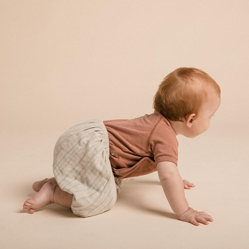 BABY BLOOMERS - CIRCA STRIPE - 6 MONTHS