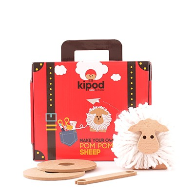 pom pom kit sheep kidpod