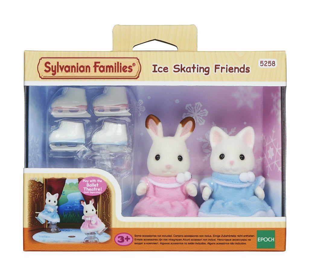SYLVANIAN ICE SKATING FRIENDS
