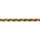 14k Rose Gold 54.6g Solid Heavy Thick 10mm Cuban Curb Link Bracelet 8""