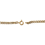 14k Yellow Gold 9.6g Ladies 4mm Herringbone Link Chain Necklace Italy 16""