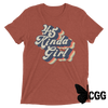 .45 Kinda Girl Tee Clay Triblend / Xs