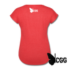 ARMED ANGEL Women's Tee - heather red