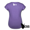 ARMED ANGEL Women's Tee - purple heather