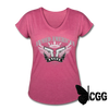 ARMED ANGEL Women's Tee - heather raspberry