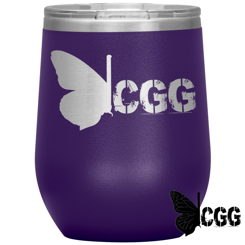 Cgg Wine Tumbler Purple