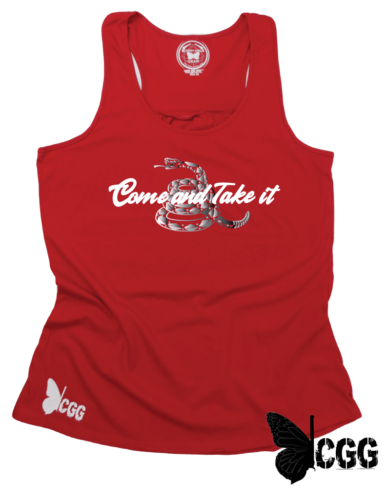 Come & Take It Tank Xs / Red Cgg Racerback Tank