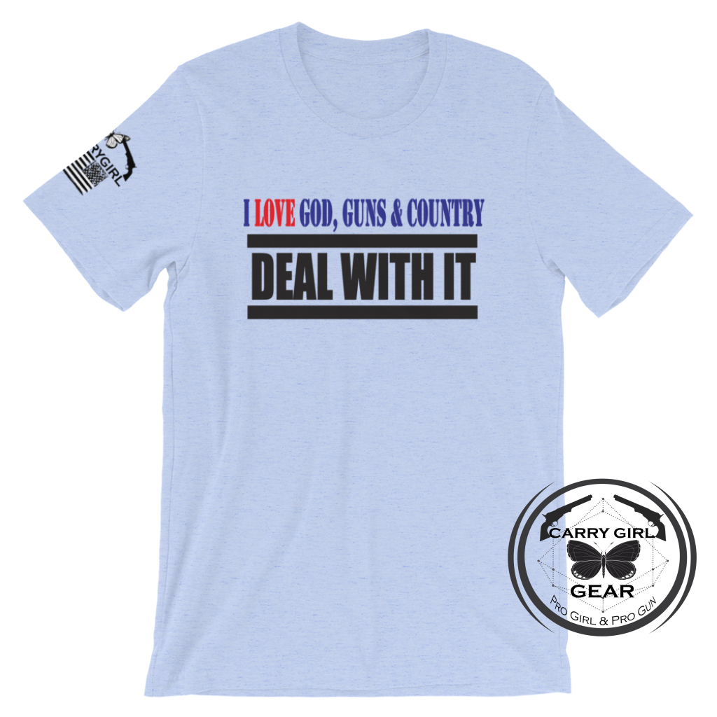 DEAL WITH IT TEE - Carry Girl Gear
