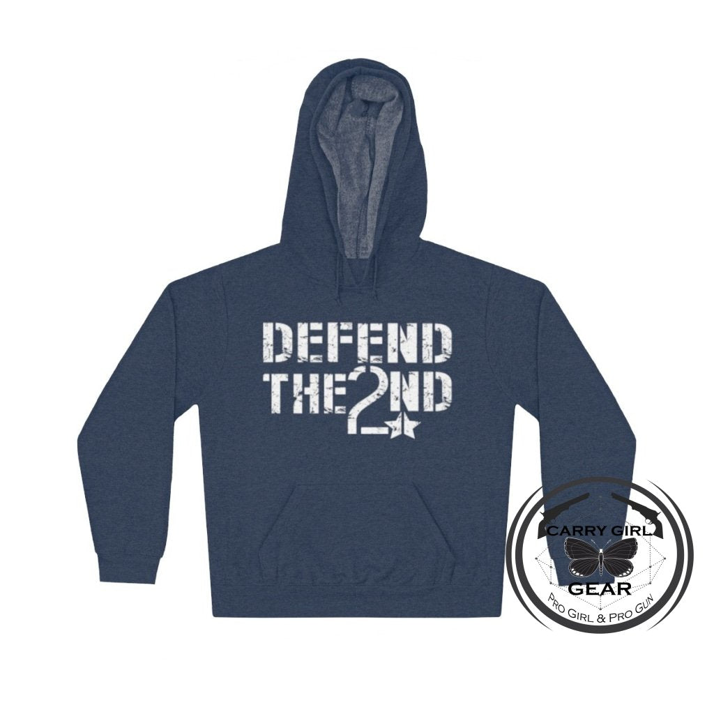 Defend The 2Nd Hoodie L / Cardinal