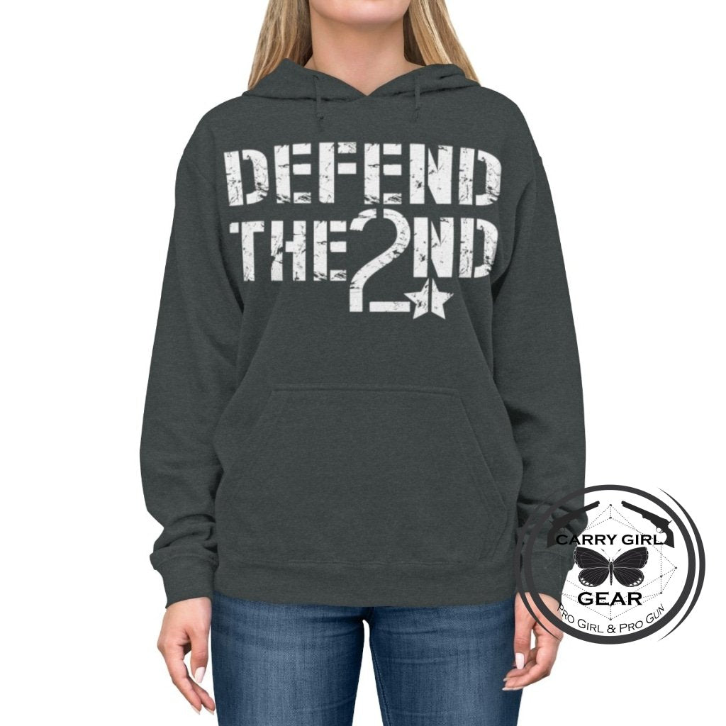 Defend The 2Nd Hoodie S / Charcoal Heather