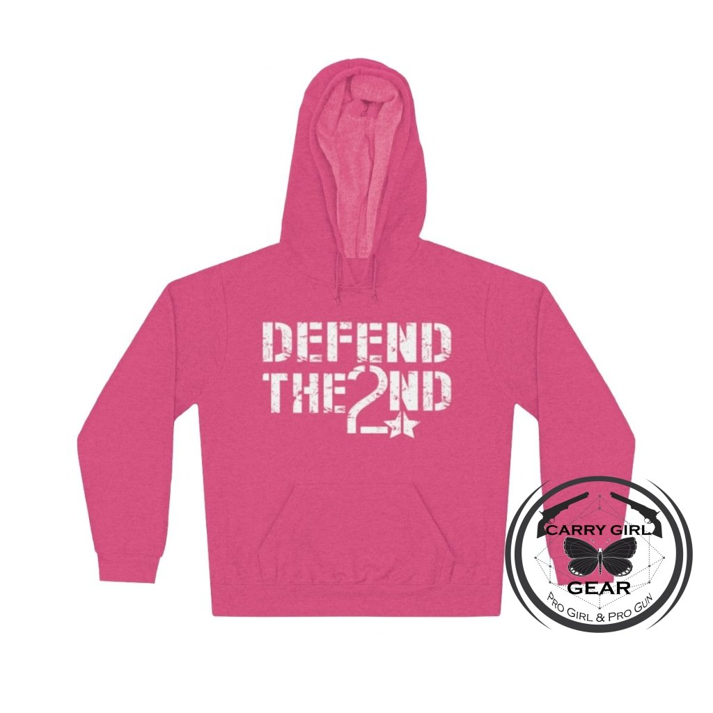 Defend The 2Nd Hoodie S / Heliconia
