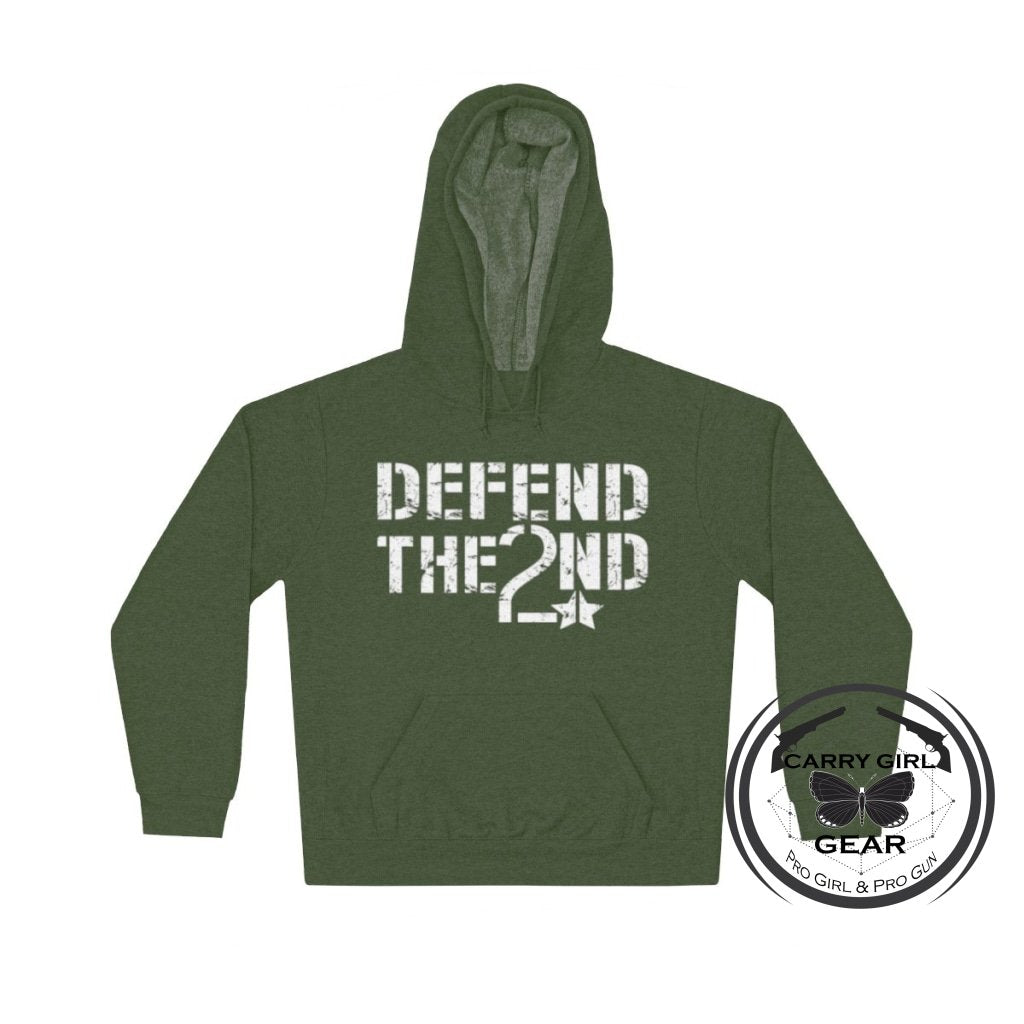 Defend The 2Nd Hoodie S / Moss
