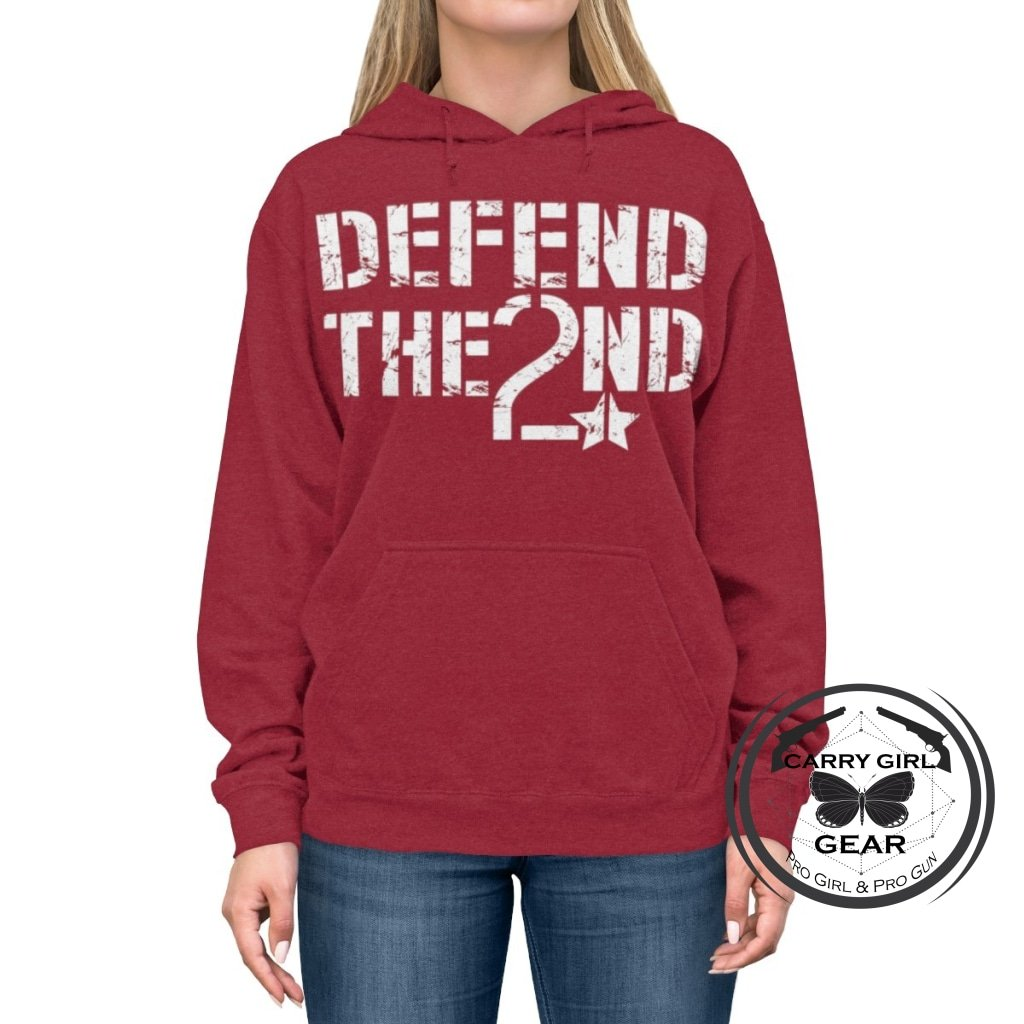 DEFEND the 2ND Hoodie - Carry Girl Gear