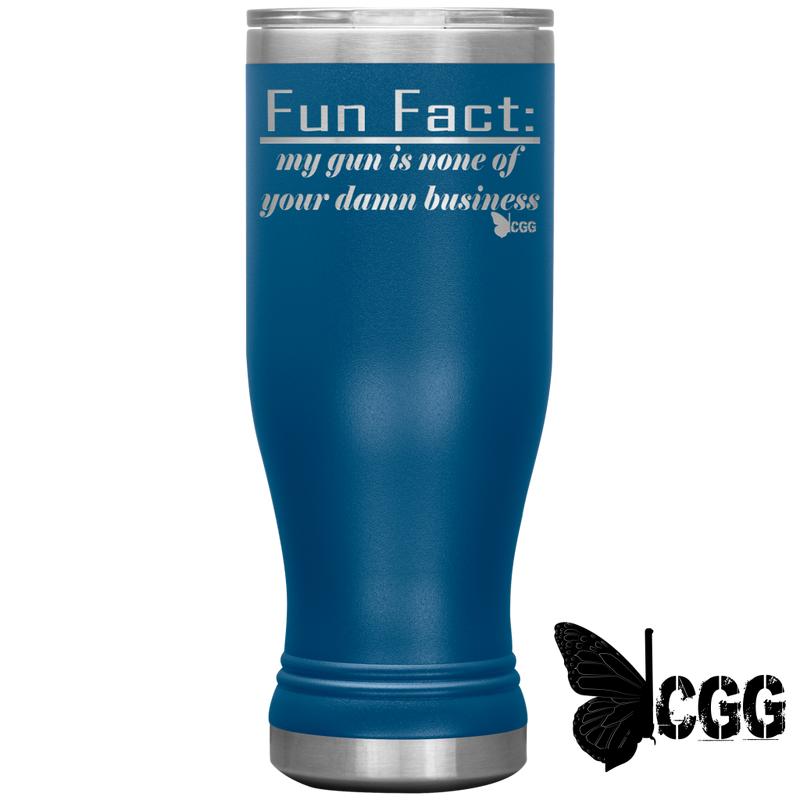 Fun Fact Tumbler Blue Tumblers