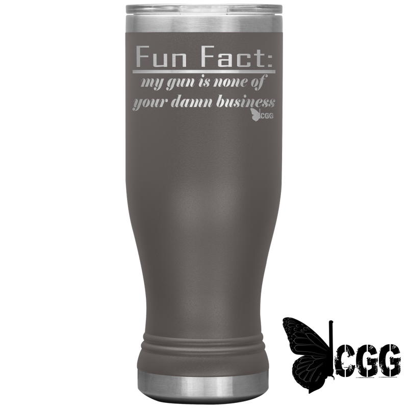 Fun Fact Tumbler Pewter Tumblers