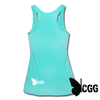 GUNS are FUN Tank - turquoise