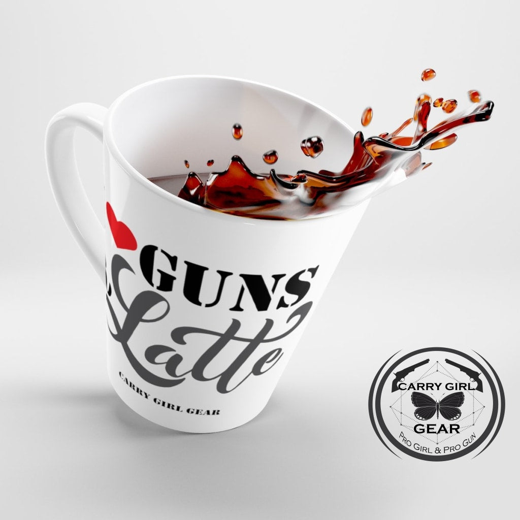 I LOVE GUNS a LATTE - Carry Girl Gear