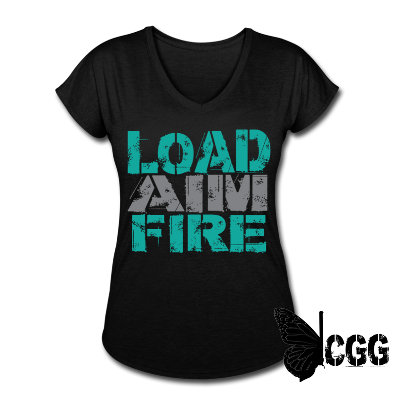 LOAD AIM FIRE Women's Tee - black