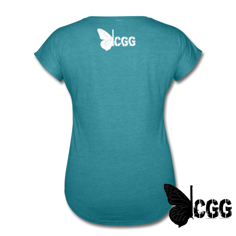 MY RIGHTS Women's Tee - heather turquoise