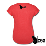 NOT MOST MOMS Women's Tee - heather red