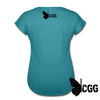 NOT MOST MOMS Women's Tee - heather turquoise
