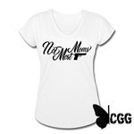 NOT MOST MOMS Women's Tee - white