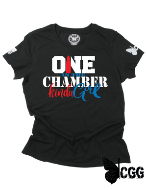 One In The Chamber Tee Xs / Black Cgg Perfect Tee