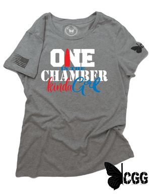 One In The Chamber Tee Xs / Heather Steel Cgg Perfect Tee