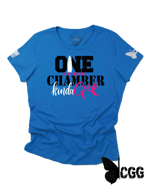 One In The Chamber Tee Xs / Turquoise Cgg Perfect Tee